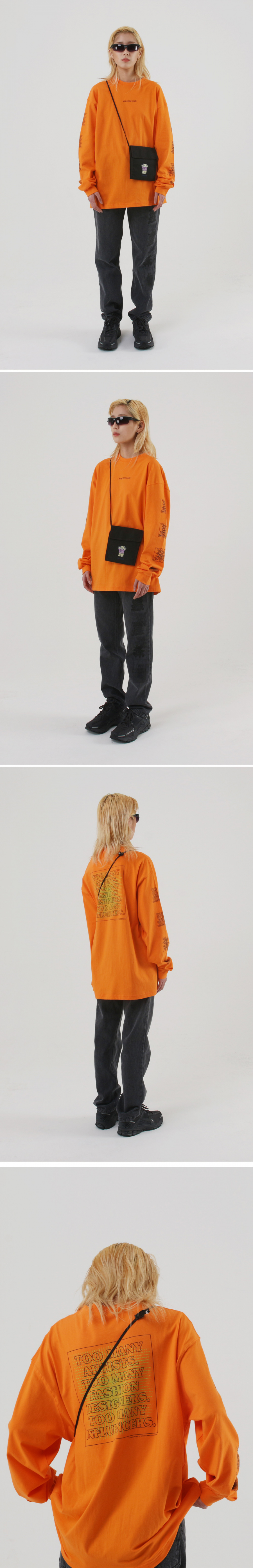 어피스오브케이크(APOC) TM Longsleeve_Orange