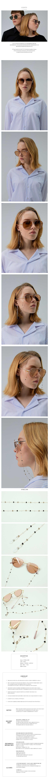 세스띠(CESTI) Glasses Chain C400 GOLD