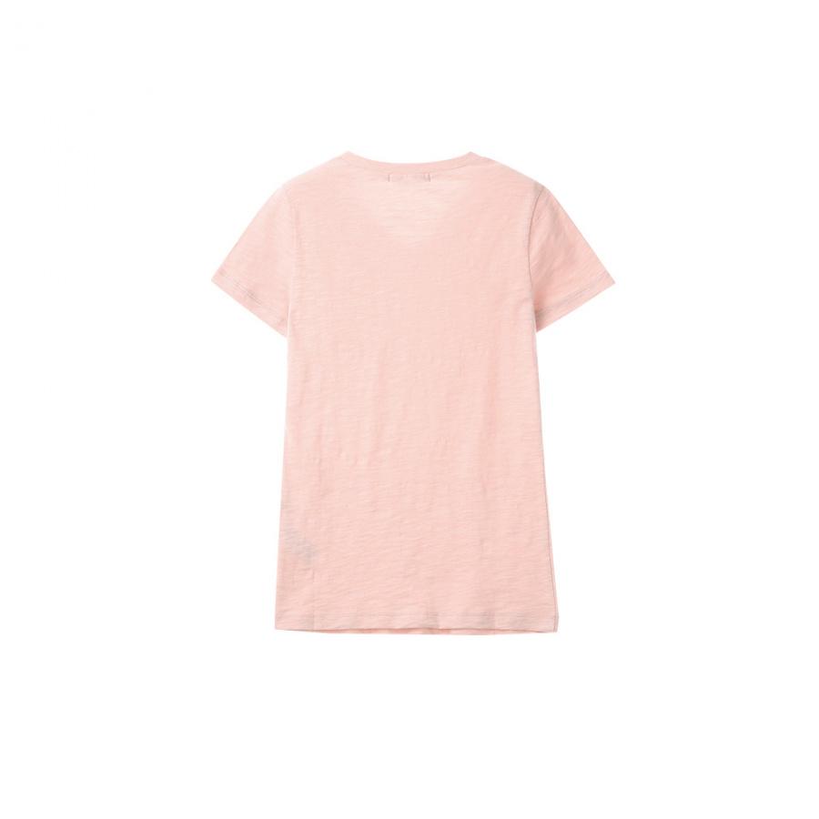 게스(GUESS) 여성 기획 미니▽ V넥 슬럽 반팔 티셔츠