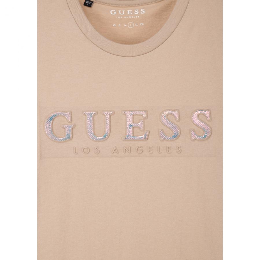 게스(GUESS) 남성 홀로그램 GUESS 반팔 티셔츠