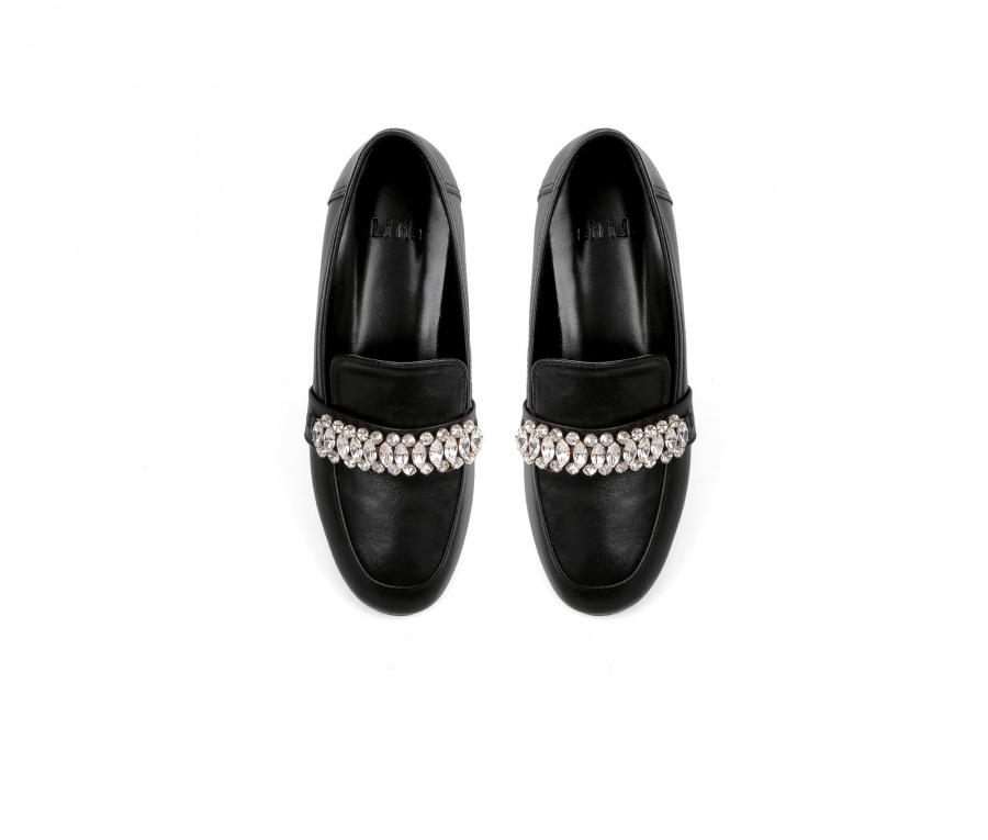 리플라(LI FLA) 19A108 black loafer