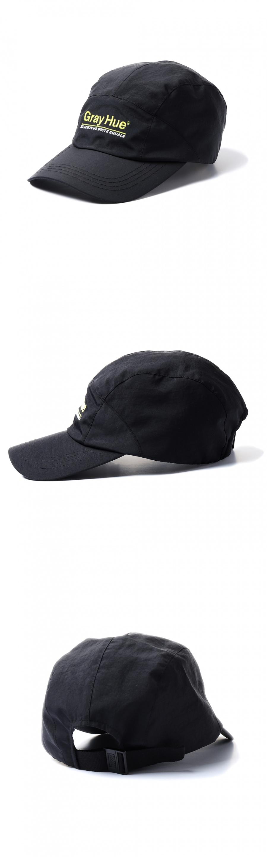 그레이휴(GRAY HUE) Gray Hue Camp Cap Black G9S2A601 99