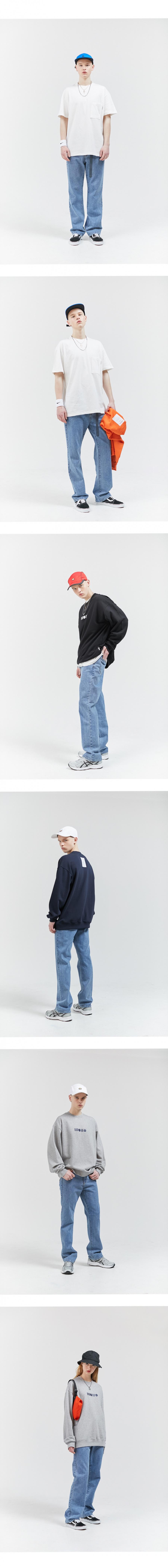 모노라운지(MONOLOUNGE) 모노 와이드 데님 팬츠