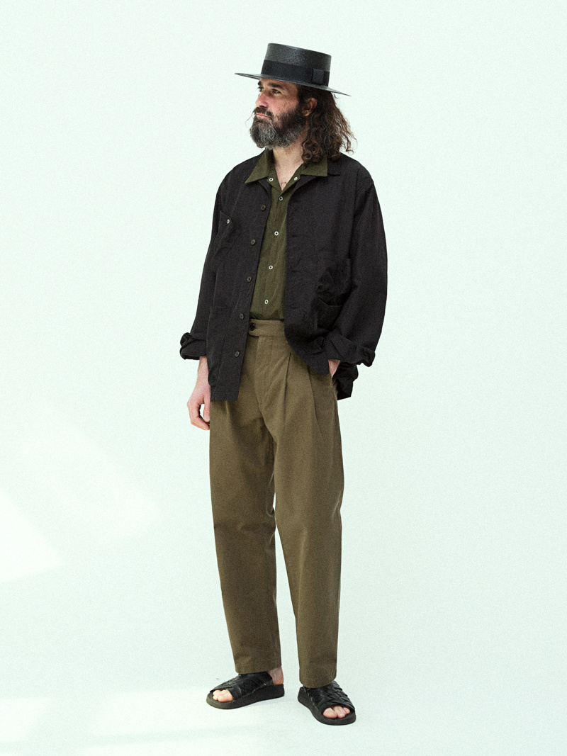 유니폼브릿지(UNIFORM BRIDGE) 19ss utility jacket sage green