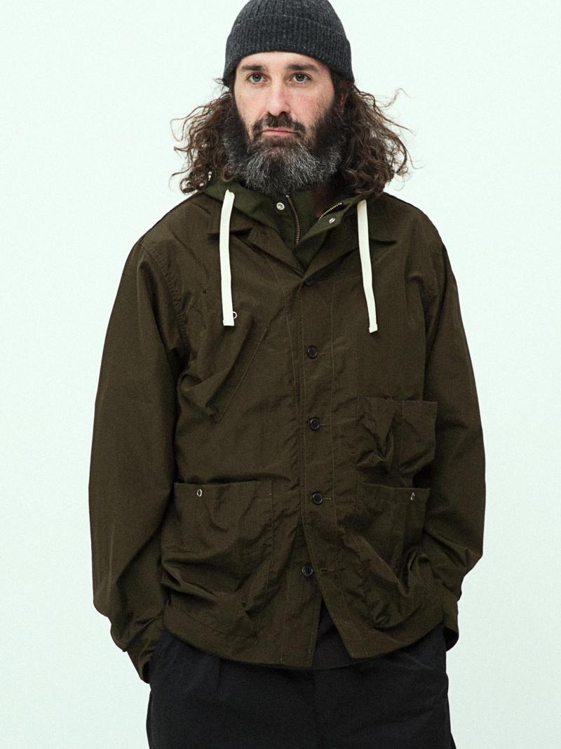 유니폼브릿지(UNIFORM BRIDGE) 19ss utility jacket olive