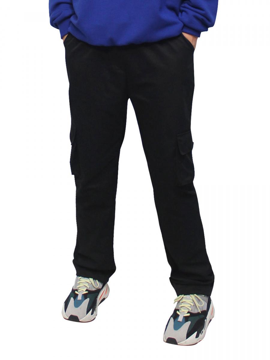 a54f08b8bbc 클라코(CLACO) 백 지퍼 카고팬츠 (블랙) - 68,000원 | 무신사 스토어