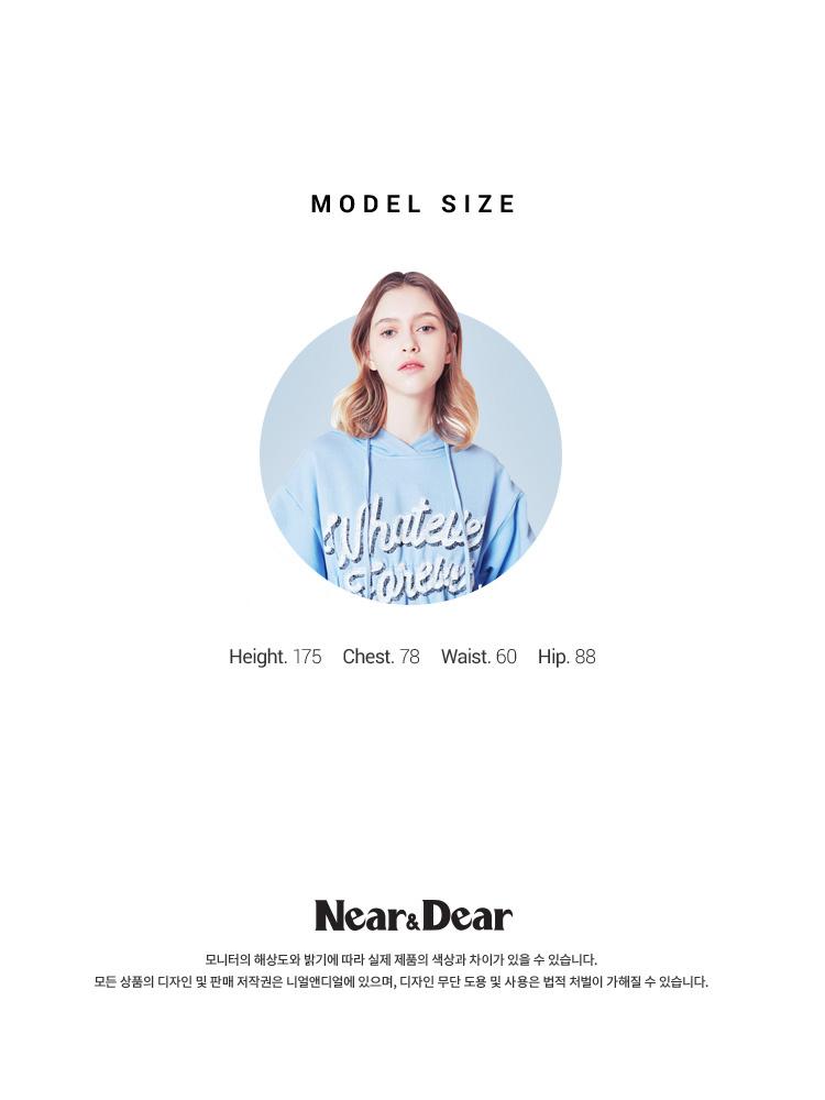 니어앤디어(NEAR&DEAR) 실키 슬립 드레스 (NAVY)