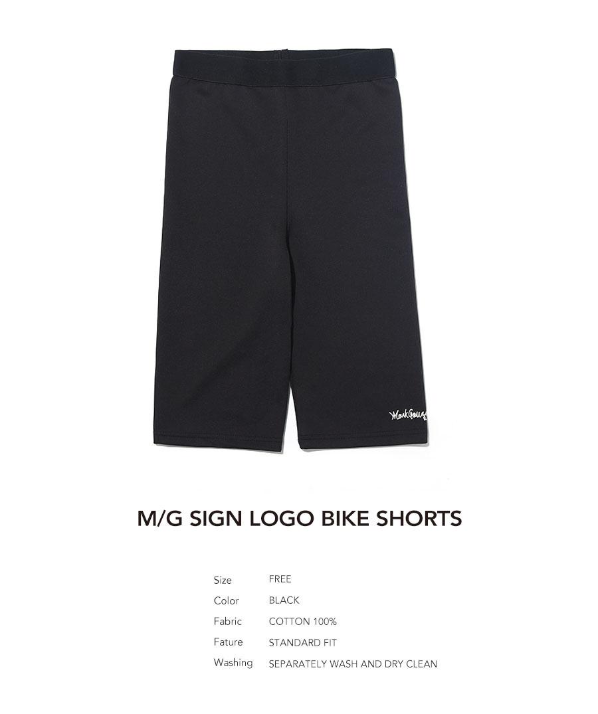 마크 곤잘레스(MARK GONZALES) M/G SIGN LOGO BIKE SHORTS