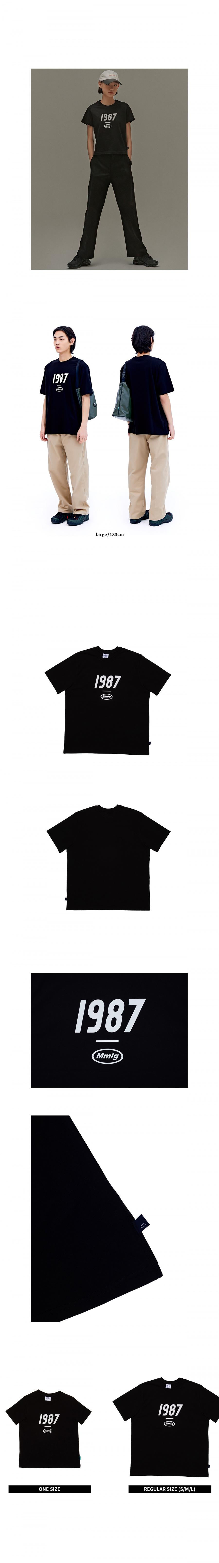 팔칠엠엠(87MM) [Mmlg] 1987MMLG HF-T (BLACK)