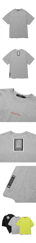 엘엠씨(LMC) LMC FN EMB OVERSIZED TEE heather gray
