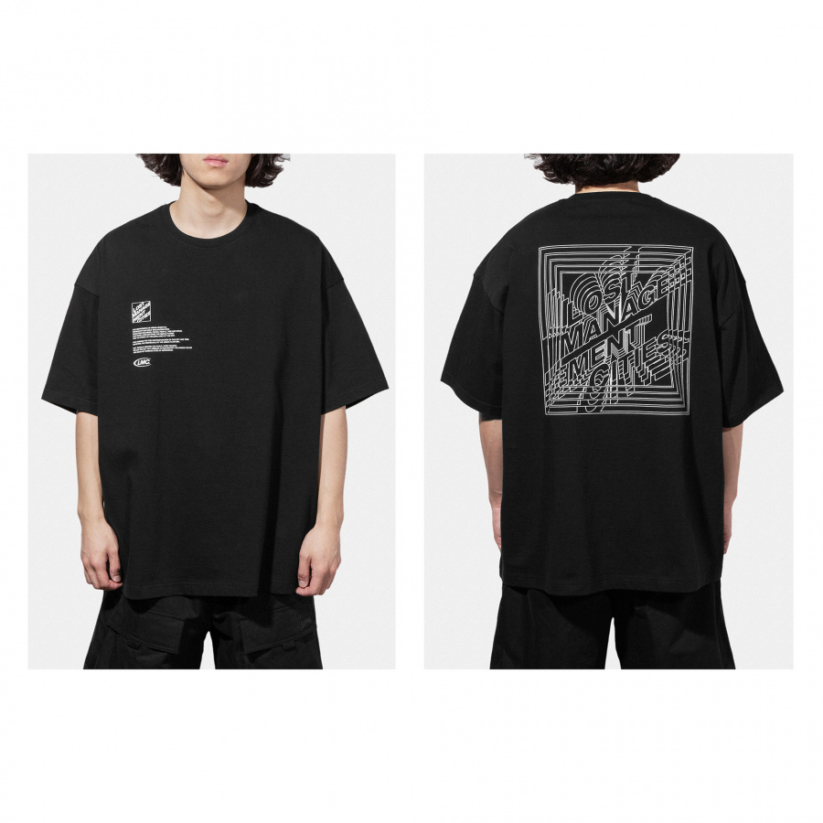 엘엠씨(LMC) LMC SQUARE FN OVERSIZED TEE black