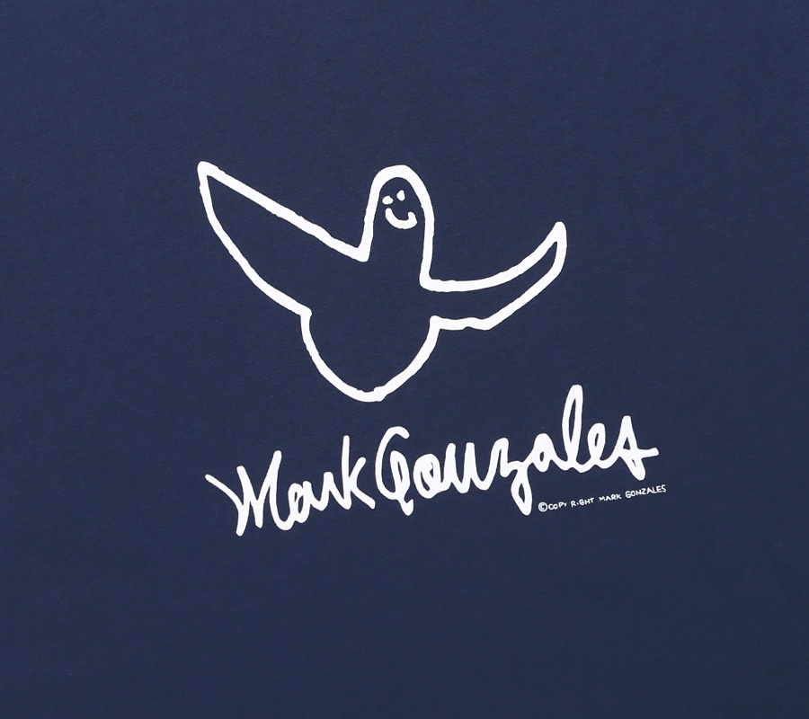 마크 곤잘레스(MARK GONZALES) M/G ANGEL LOGO T-SHIRTS NAVY