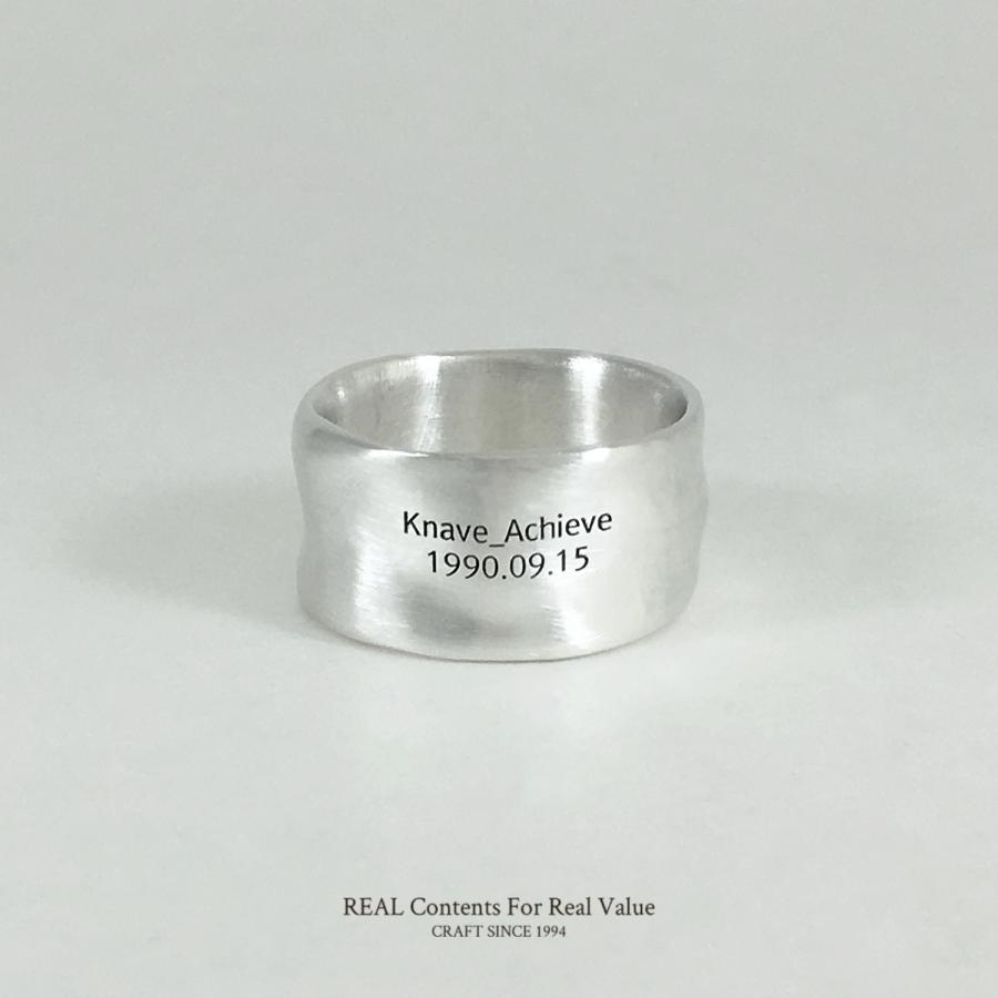 리얼컨텐츠(REAL CONTENTS) [리얼컨텐츠] 플로우 라운드 925 silver 링