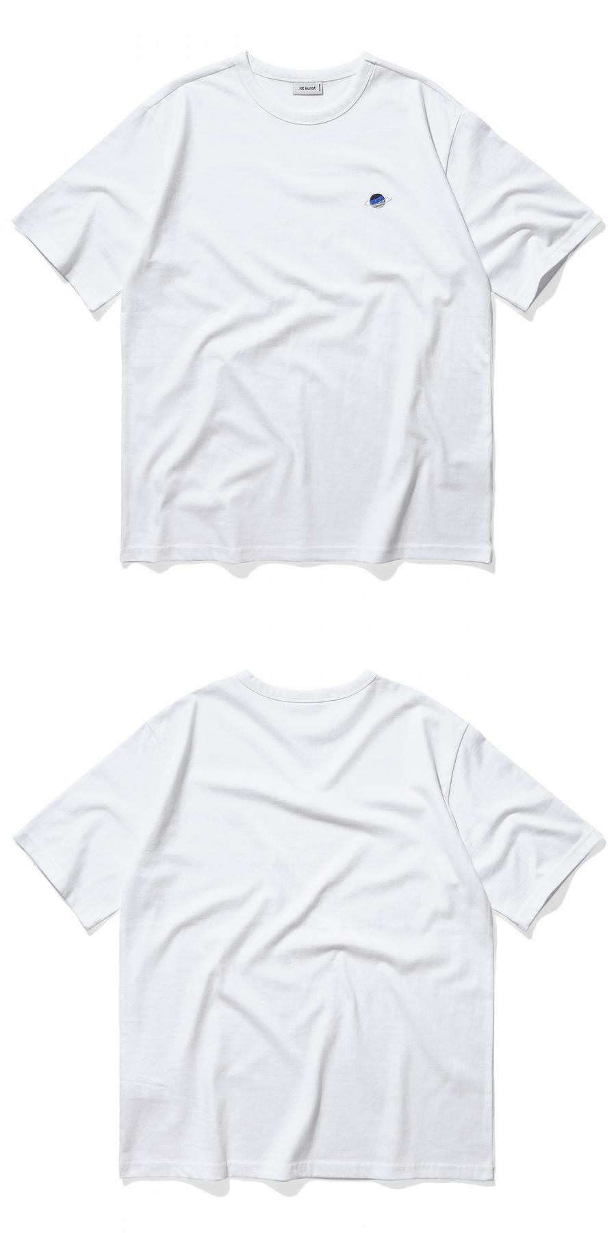이스트쿤스트(IST KUNST) 새턴 티셔츠_화이트(IK1JMMT508A)