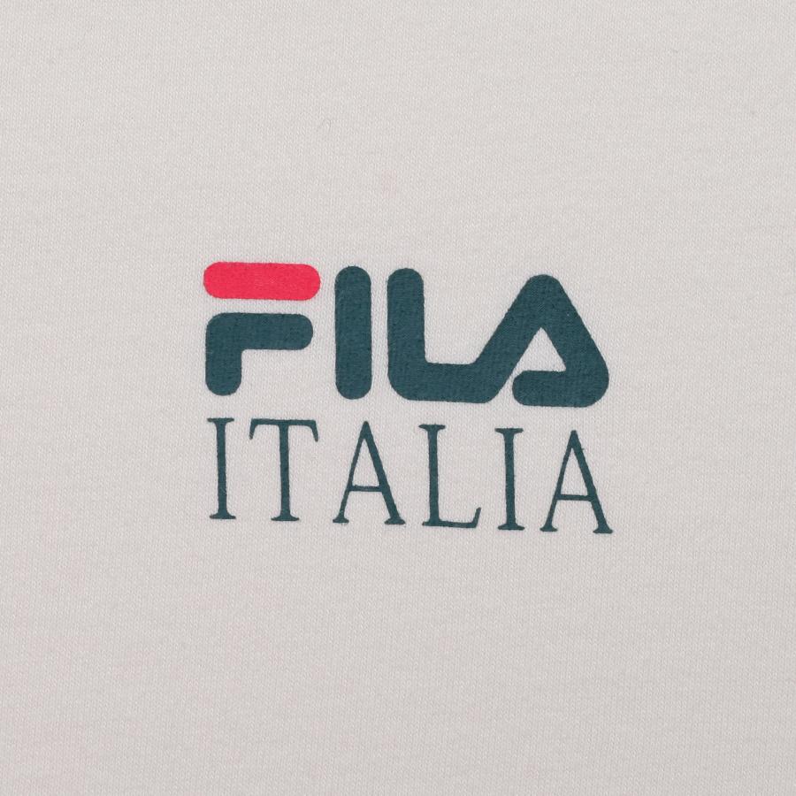 휠라(FILA) 리니어 이탈리아 베이직 루즈핏 반팔티 (FE2RSB5105XCRM)