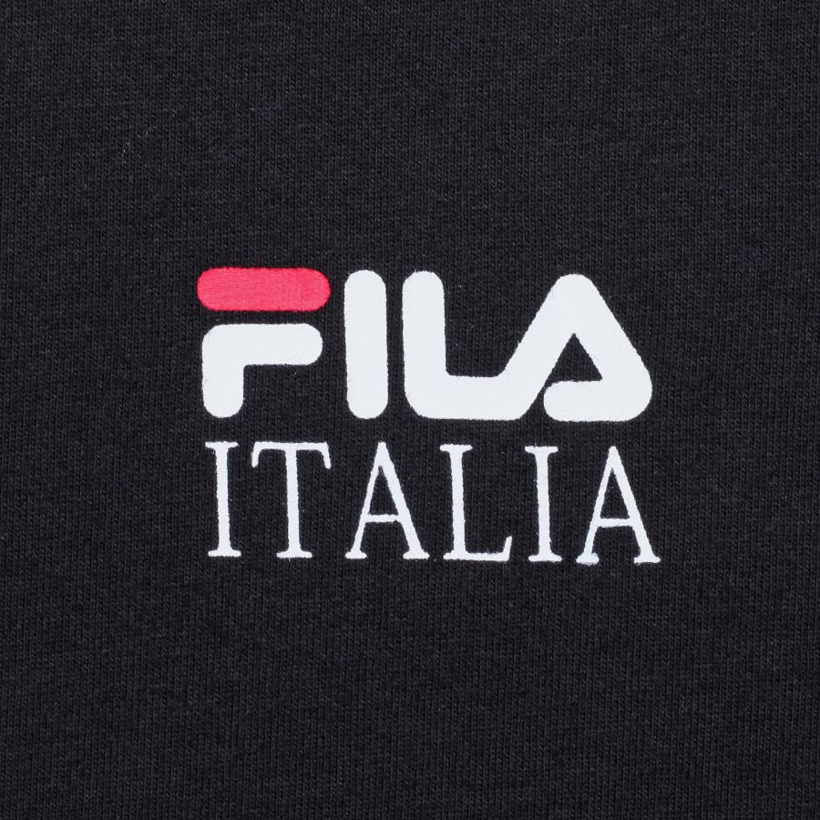 휠라(FILA) 리니어 이탈리아 베이직 루즈핏 반팔티 (FE2RSB5105XBLK)