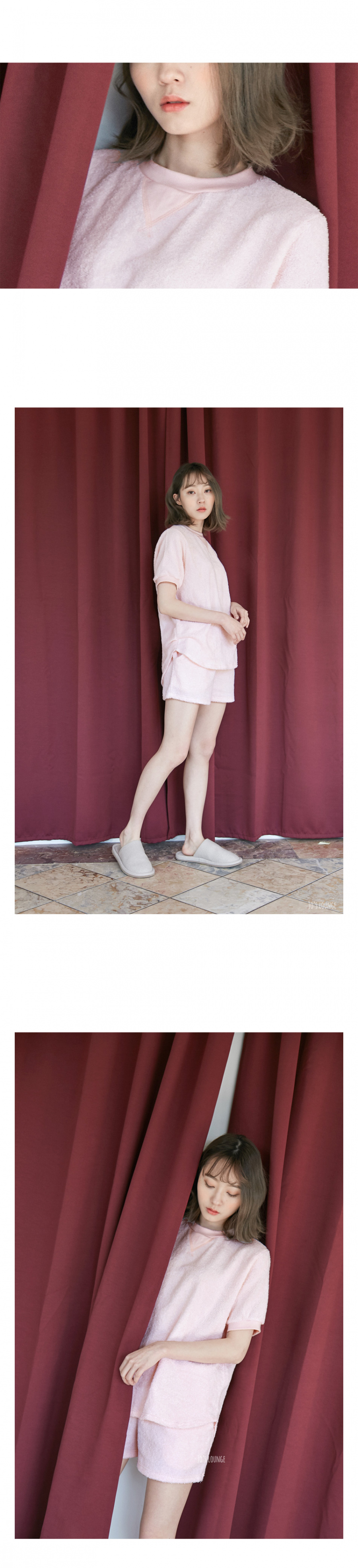 조스라운지(JOSLOUNGE) [여성] 테리 라운지 투피스