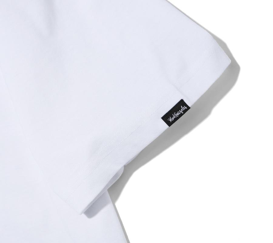마크 곤잘레스(MARK GONZALES) M/G SIGN LOGO T-SHIRTS WHITE