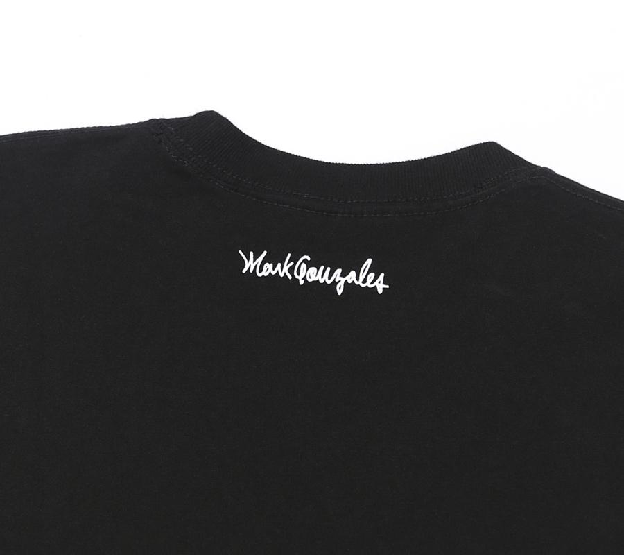 마크 곤잘레스(MARK GONZALES) M/G SIGN LOGO T-SHIRTS BLACK