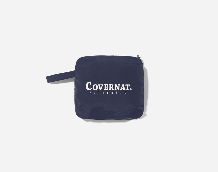 커버낫(COVERNAT) PACKABLE SHORE SHORTS NAVY