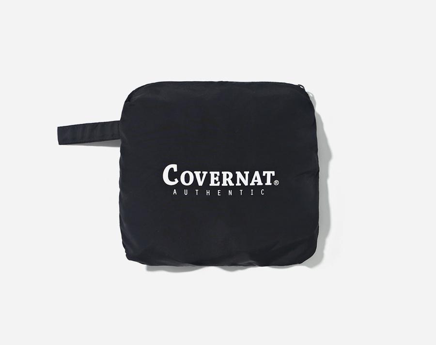 커버낫(COVERNAT) PACKABLE SHORE SHORTS BLACK