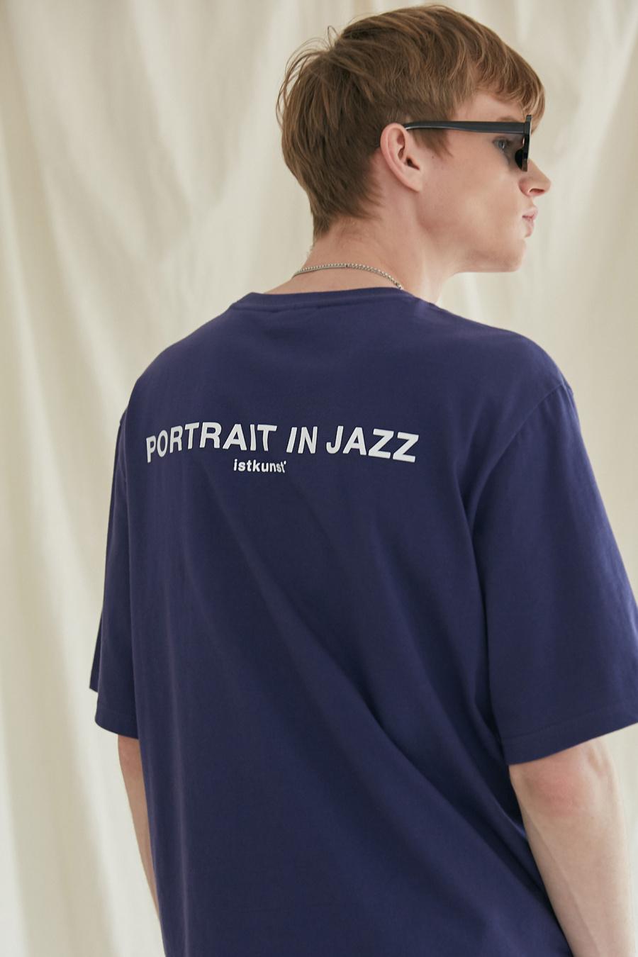 이스트쿤스트(IST KUNST) 포트레이트 인 재즈 티셔츠_퍼플(IK1JMMT515A)