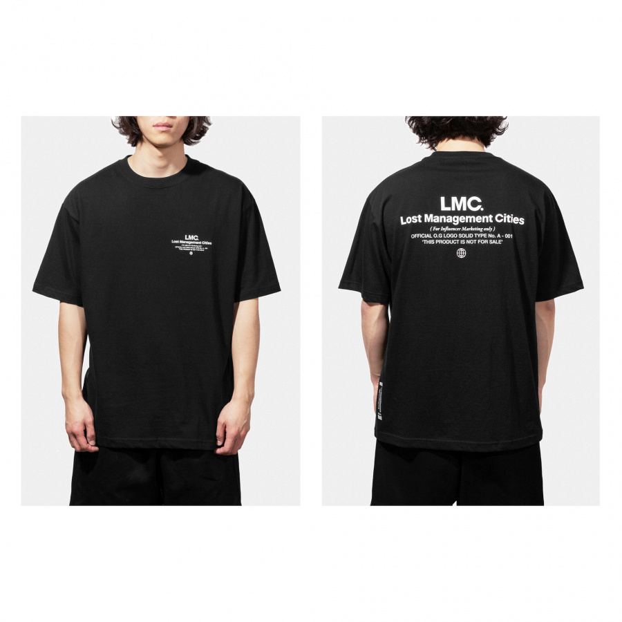 엘엠씨(LMC) LMC INFLUENCER TEE black
