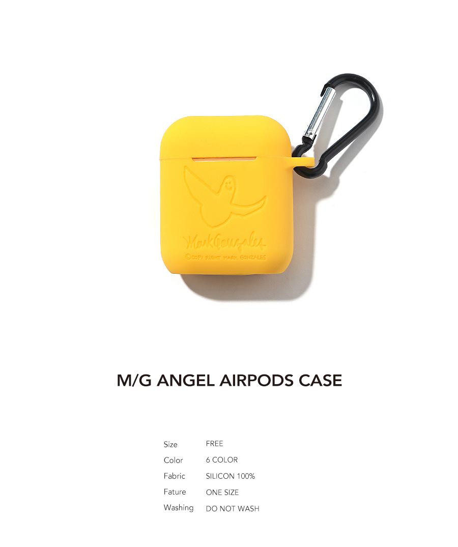 마크 곤잘레스(MARK GONZALES) M/G ANGEL AIRPODS CASE YELLOW