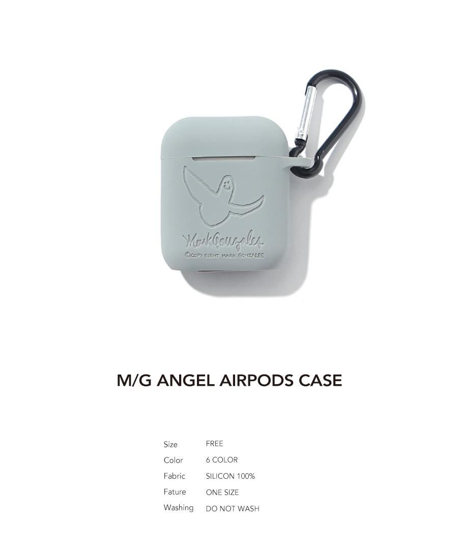 마크 곤잘레스(MARK GONZALES) M/G ANGEL AIRPODS CASE GRAY