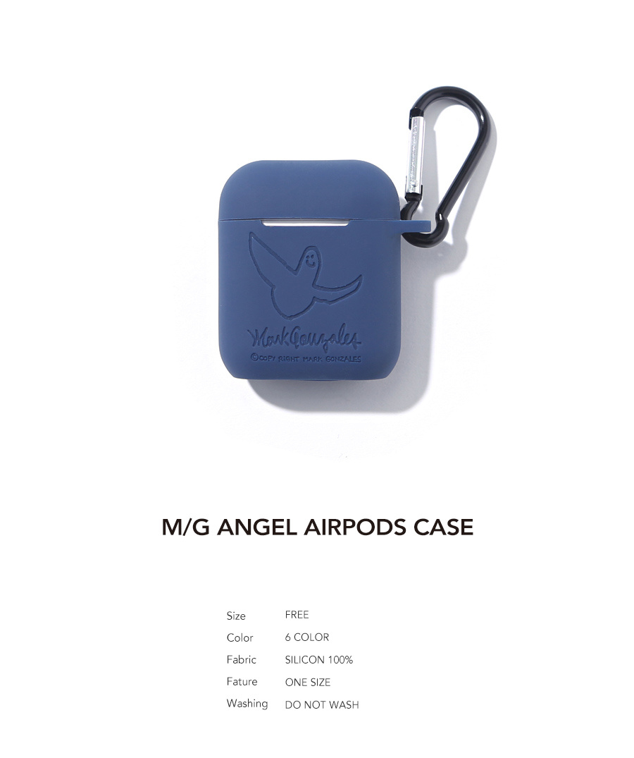 마크 곤잘레스(MARK GONZALES) M/G ANGEL AIRPODS CASE NAVY