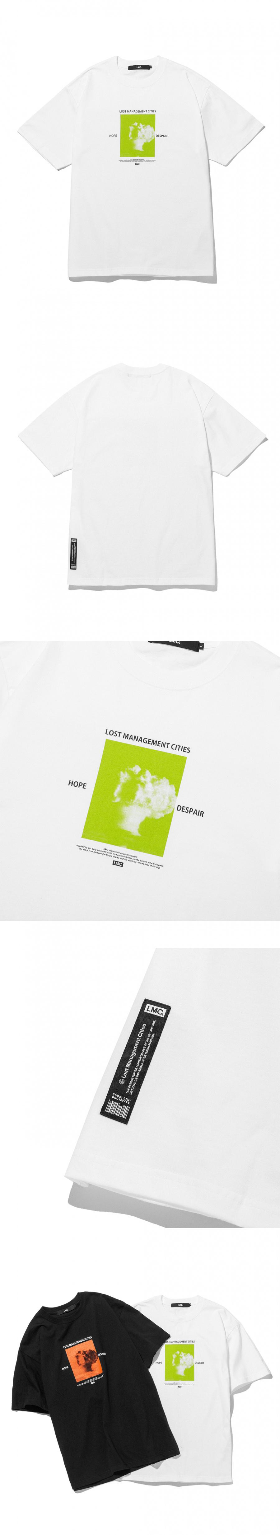 엘엠씨(LMC) LMC MUSHROOM CLOUD TEE white