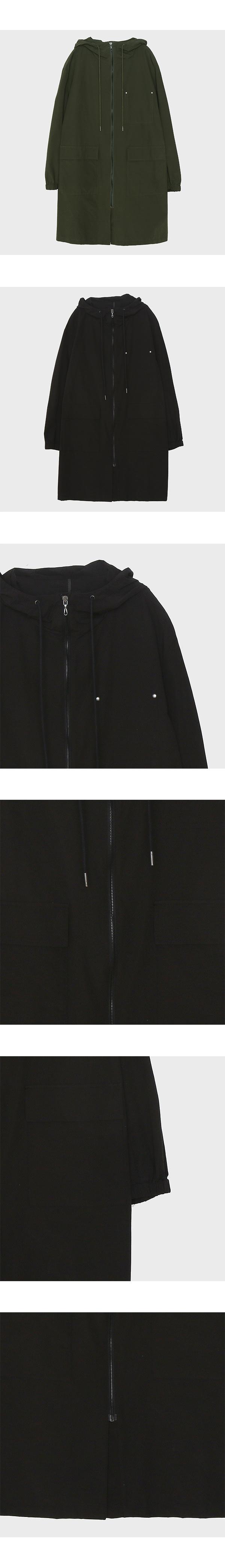 미쏘(MIXXO) 롱 후드형 짚업 점퍼 MIMJJ9404A