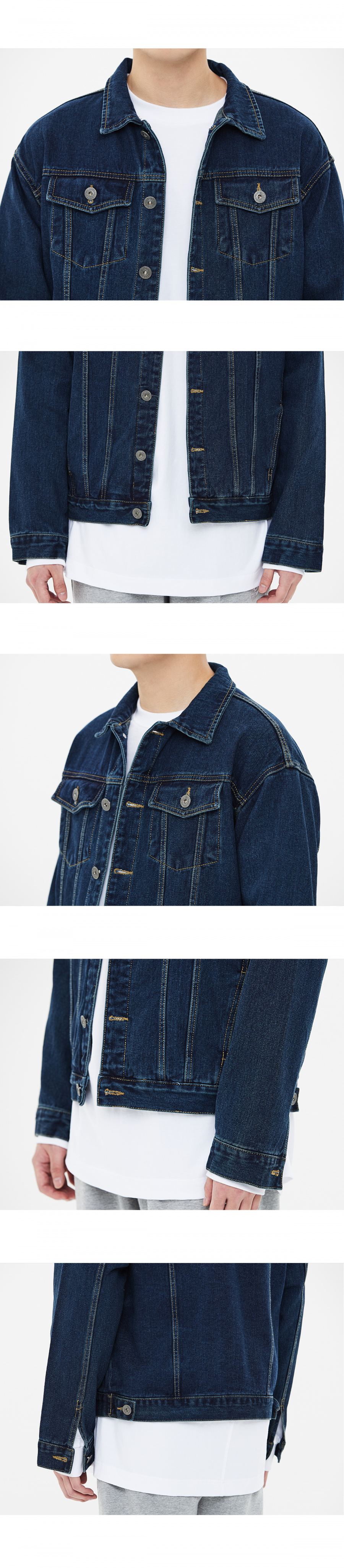 86로드(86ROAD) [8차 재입고]2724 Washing denim jacket (Blue