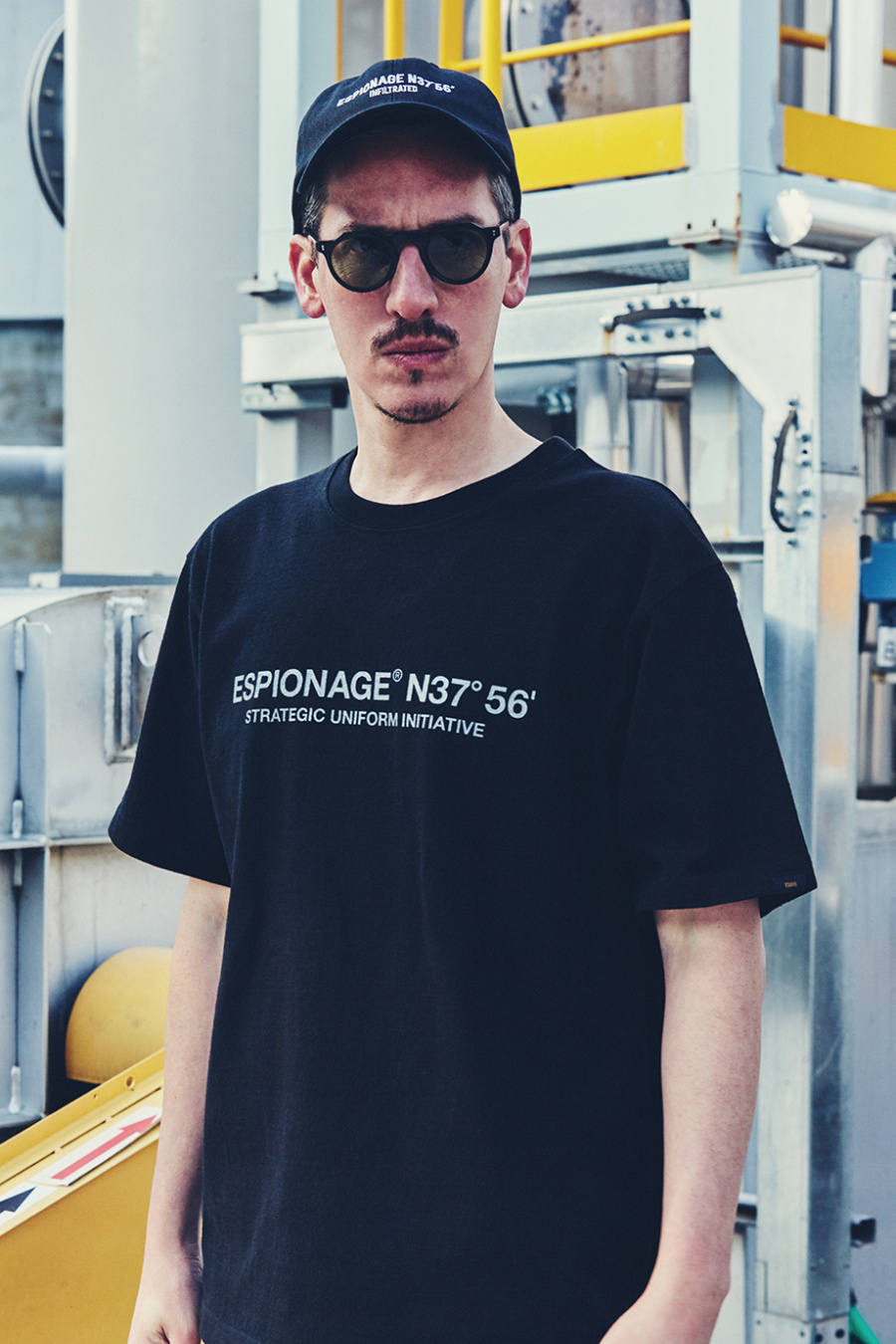 에스피오나지(ESPIONAGE) ESUI Heavyweight T-Shirt Black
