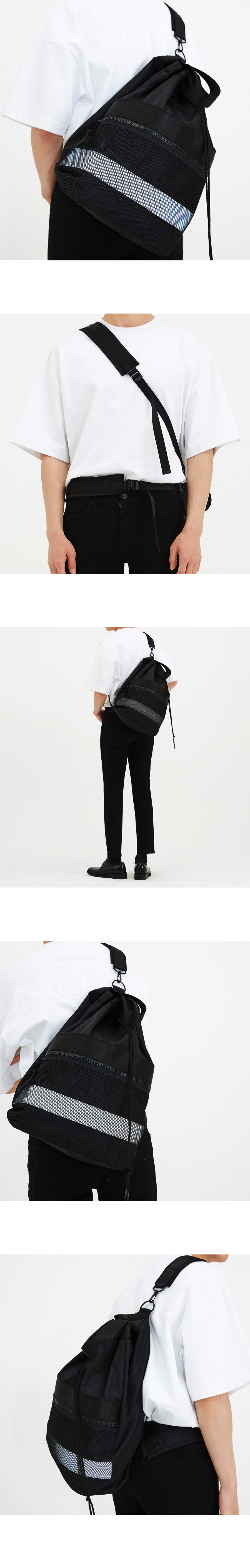 메종미네드(MAISON MINED) TWO-WAY SCOTCH BAGPACK
