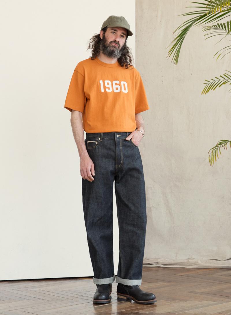 유니폼브릿지(UNIFORM BRIDGE) selvedge denim pants deep indigo
