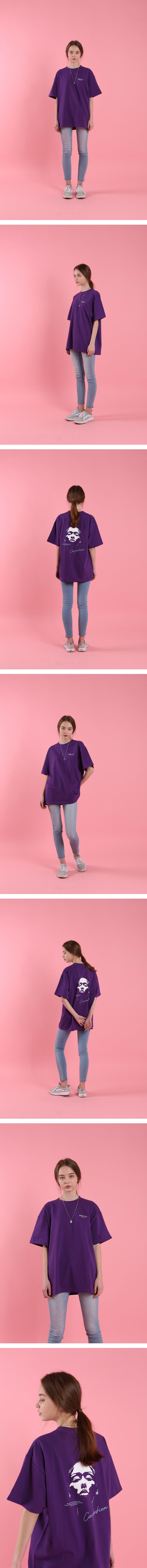 시즈더데이(SEIZETHEDAY) Extraordinary Woman T-SHIRT Purple
