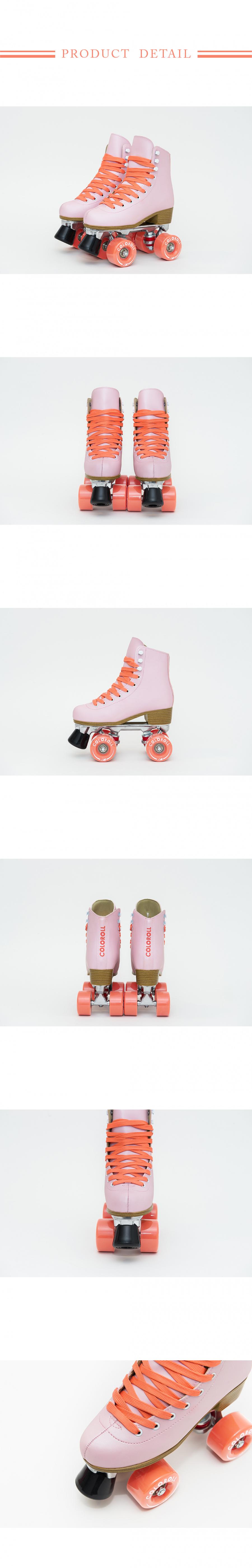 컬러롤(COLOROLL) 롤러스케이트 언더씨 코랄(핑크)