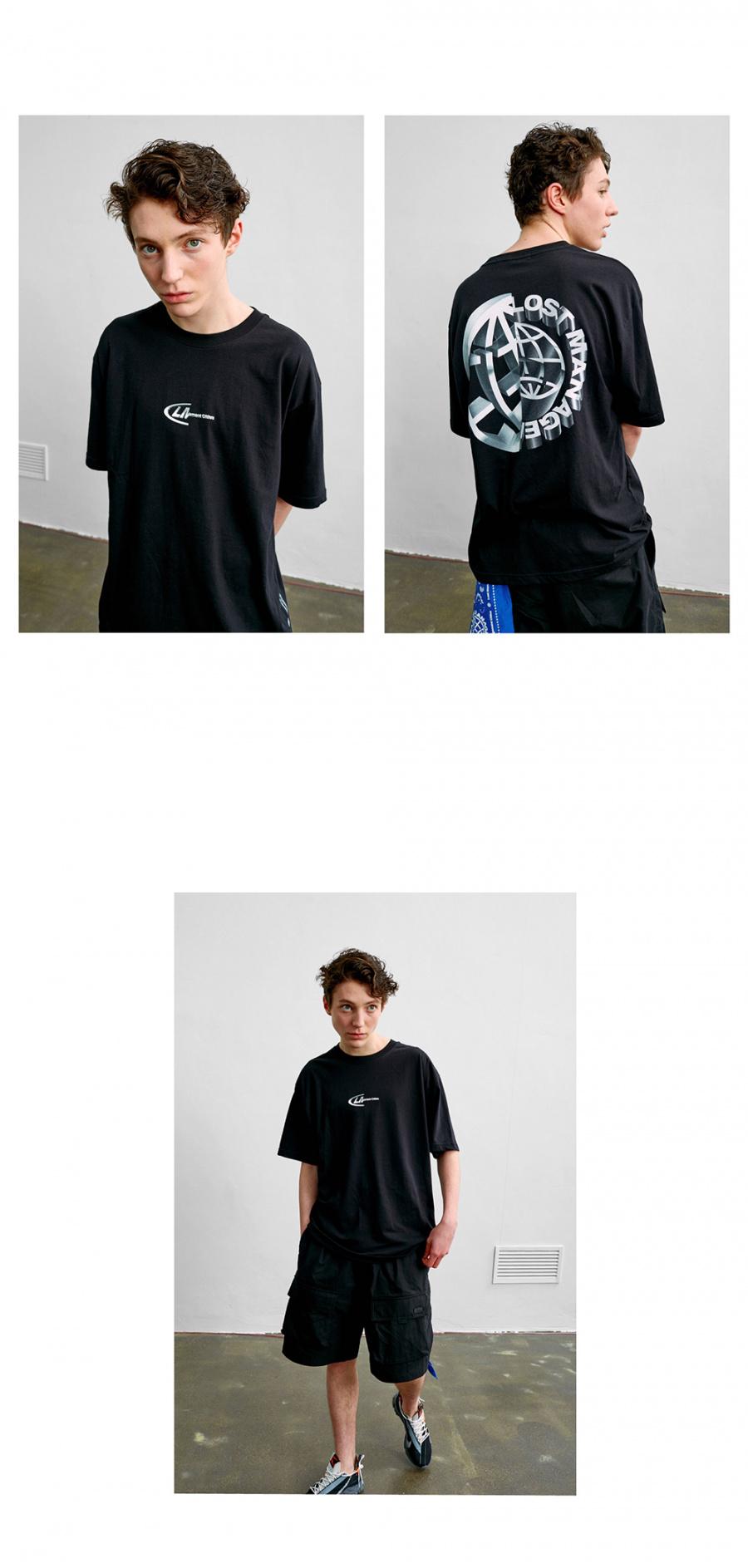 엘엠씨(LMC) LMC CUT 3D LOGO TEE black