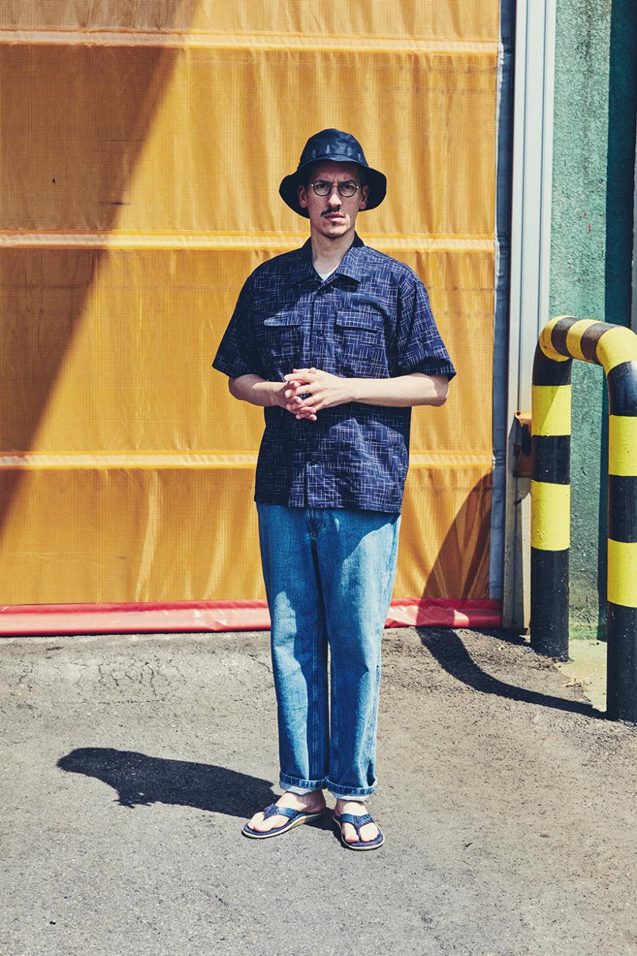 에스피오나지(ESPIONAGE) Billy 5PK Washed Denim Pants Washed Blue