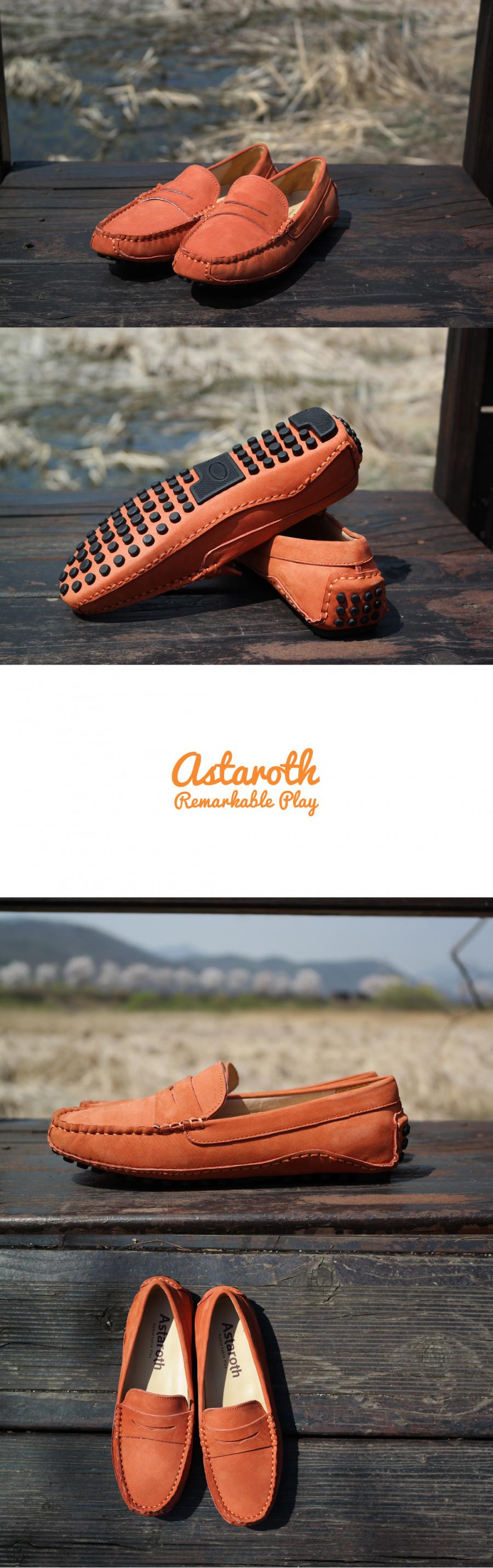 아스타로스(ASTAROTH) 누벅스킨 드라이빙슈즈 204NB34