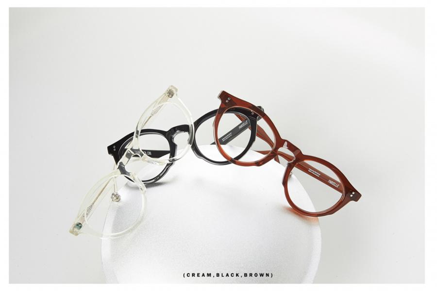 세미콜론 아이웨어(SEMICOLON EYEWEAR) 파르셀 브라운 아세테이트 Glasses