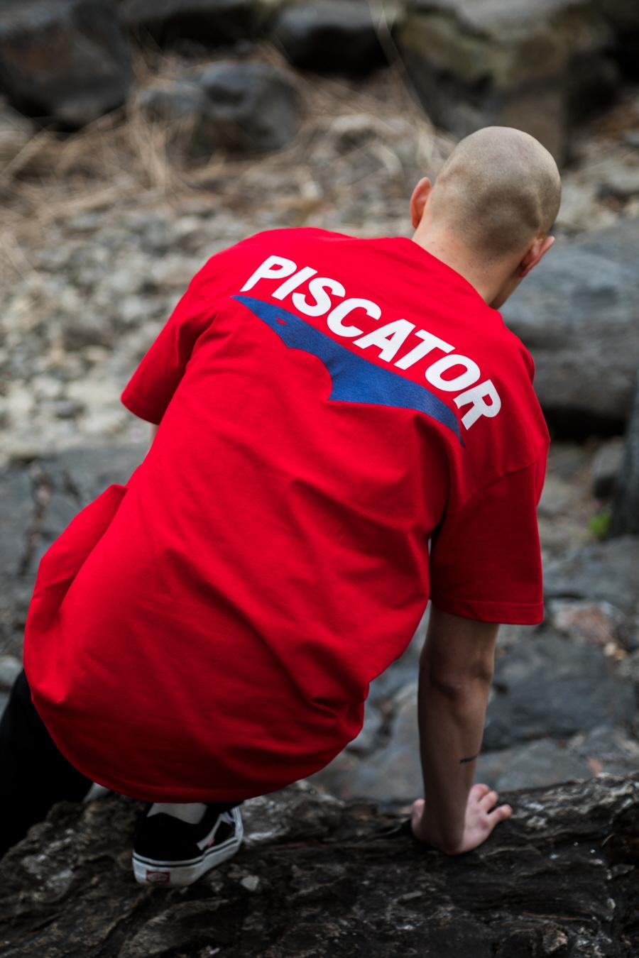 피스케이터(PISCATOR) Core Logo S/S Red