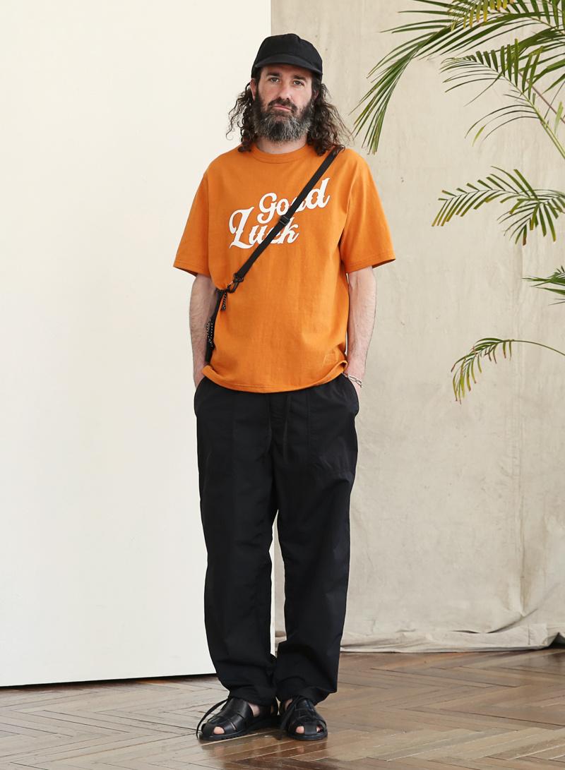 유니폼브릿지(UNIFORM BRIDGE) 19ss summer fatigue pants beige