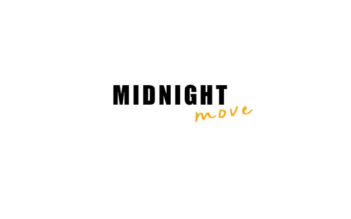 미드나잇 무브(MIDNIGHT MOVE) 스티치 반바지 (ivory)