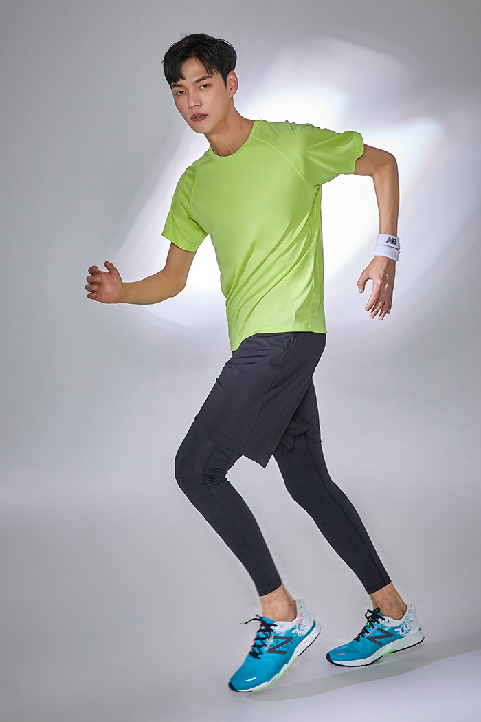 스파오(SPAO) (SPAO ACTIVE) 코트나 티셔츠 (래쉬가드 겸용)_SPGM949C02