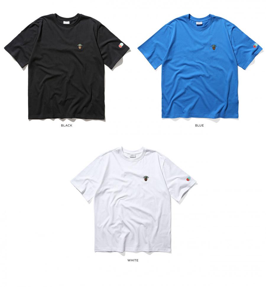 이스트쿤스트(IST KUNST) 머스타드 카멜 티셔츠 블랙(IK1JMMT590A)