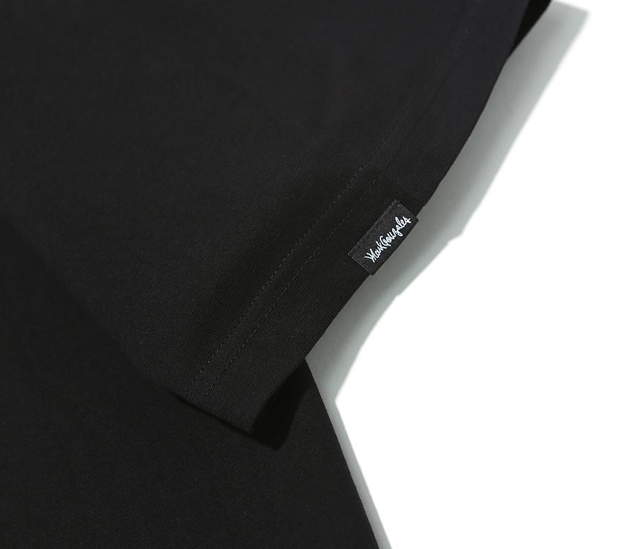마크 곤잘레스(MARK GONZALES) M/G ANGEL LOGO T-SHIRTS BLACK