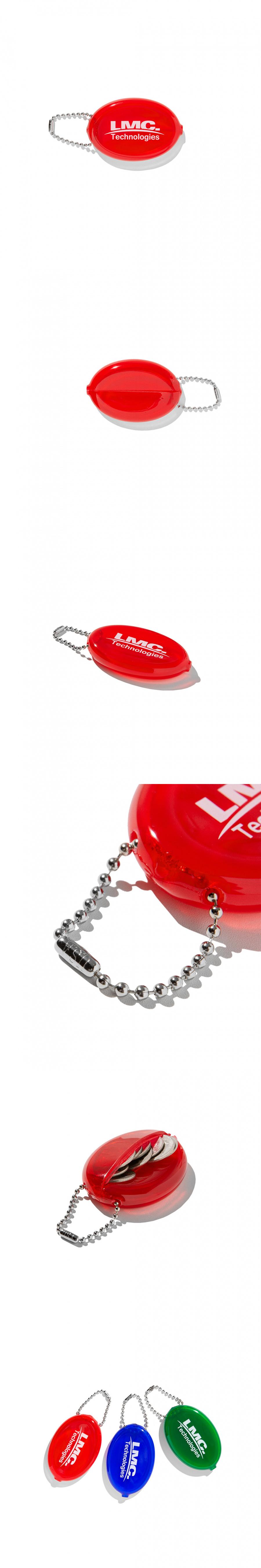 엘엠씨(LMC) LMC RUBBER COIN PURSE red