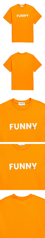 시즈더데이(SEIZETHEDAY) Funny T-SHIRT Orange